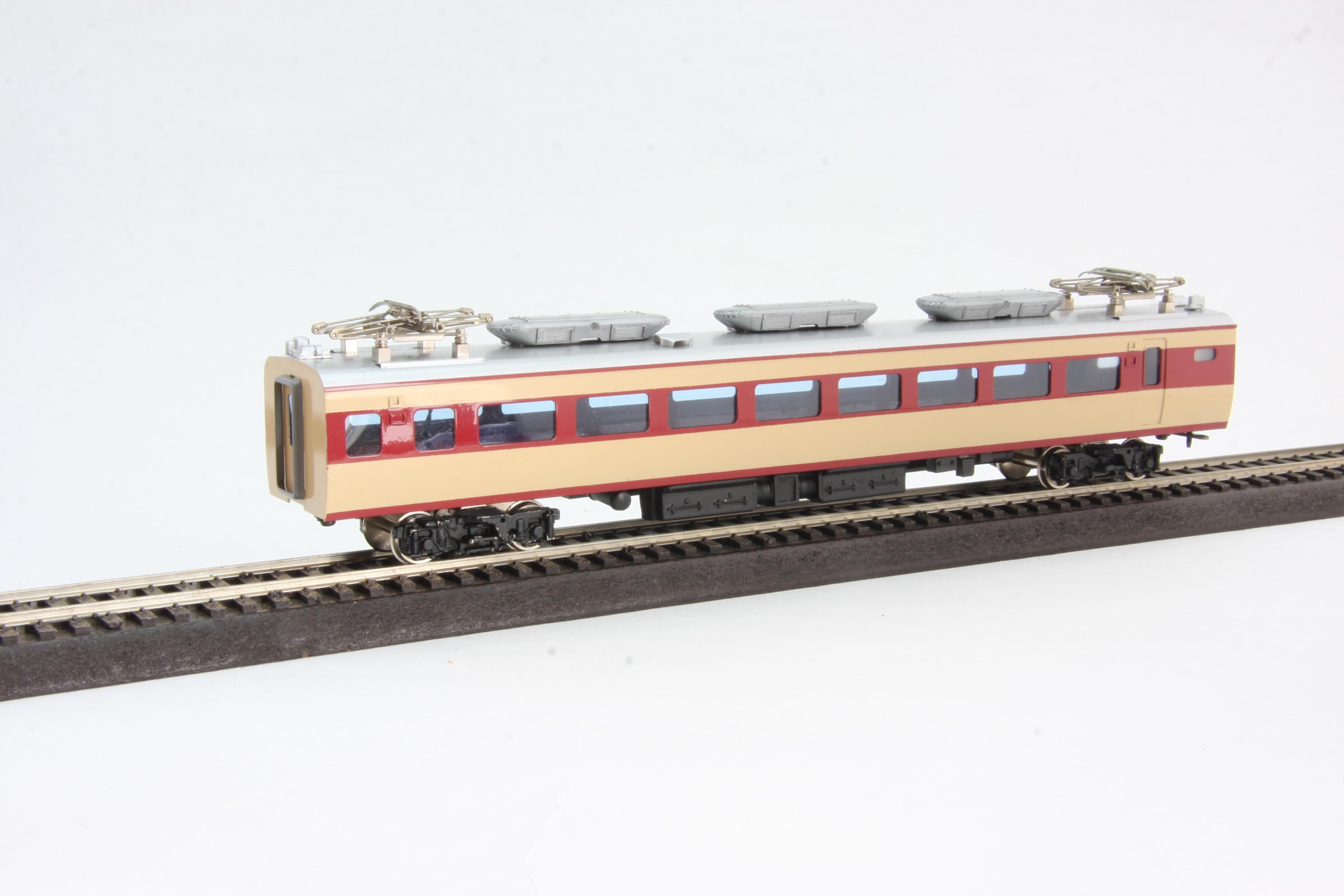 鉄道模型押し入れコレクション ブログ 国鉄181系電車