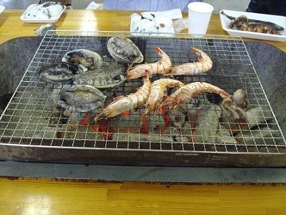 2日目海鮮昼食
