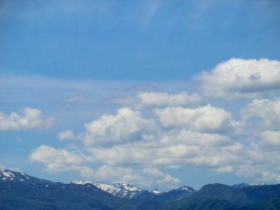 南砺、五箇山の山々