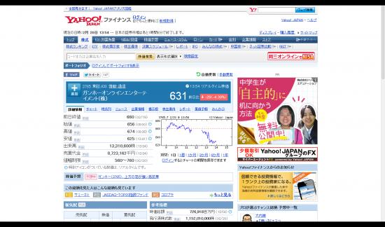 ガンホーオンラインエンターテイメント 株 【3765】:株式 株価 - Yahoo!ファイナンス