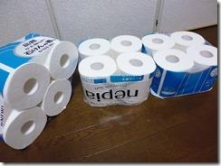 補充用トイレットペーパーのキレイな仕舞い方7