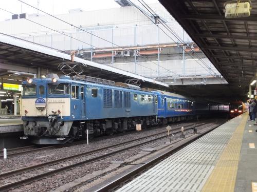 2022レ EF64 1051+24系青森車9B
