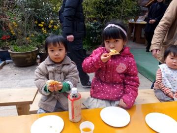 ピザ作り体験、愛菜塾7
