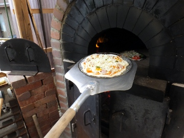 ピザ作り体験、愛菜塾13