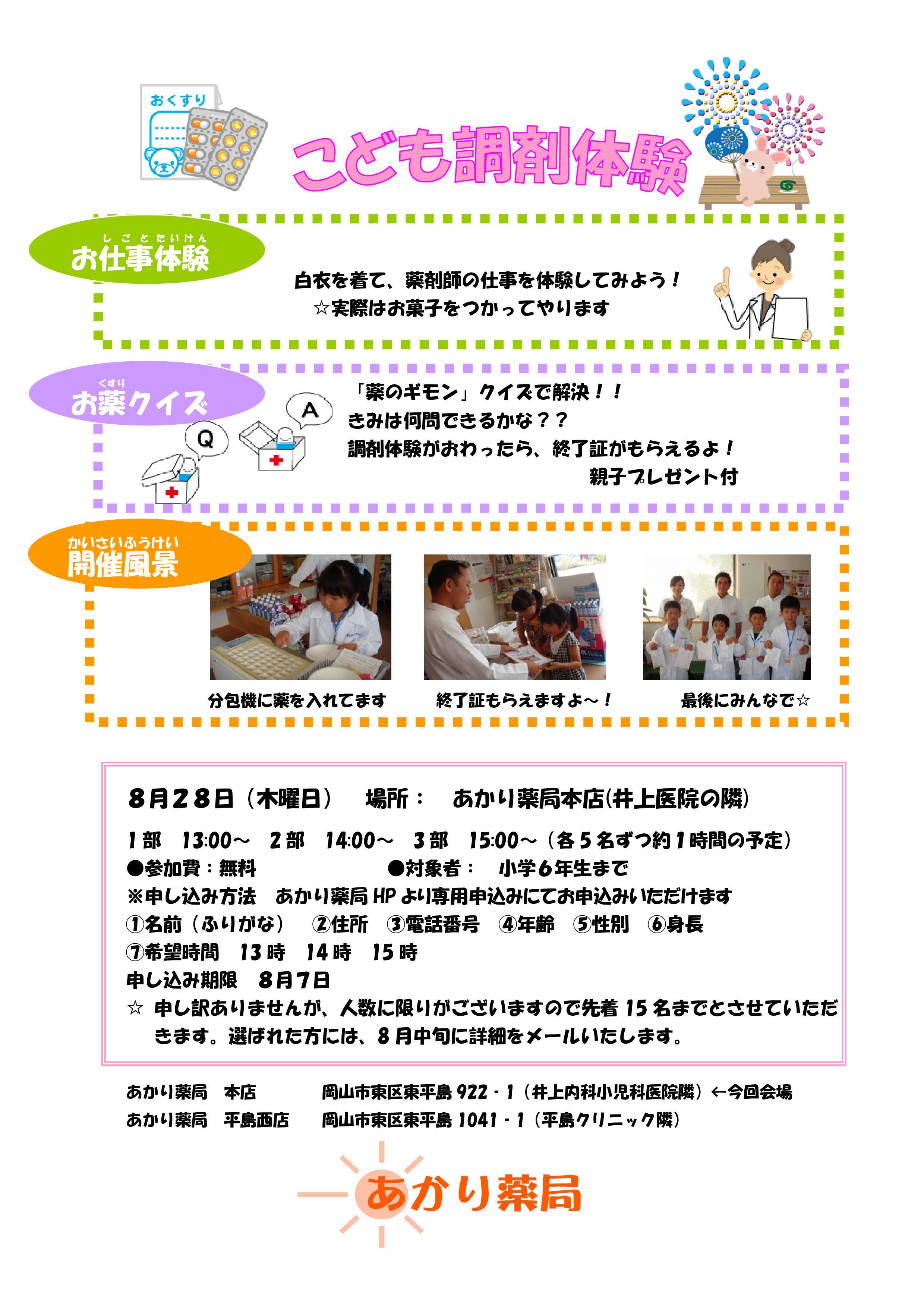 子供調剤2014ポスター