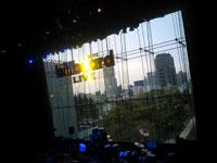 ビルボードからの景色