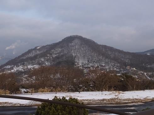 冬の鍋島山1
