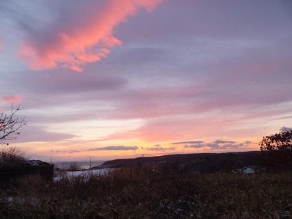 冬の八丁平展望台1