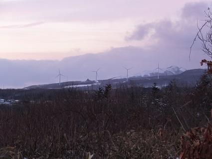 冬の八丁平展望台5