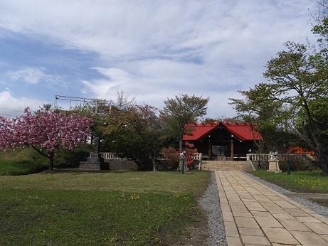 御傘山神社1