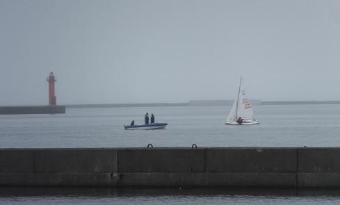 ヨット練習