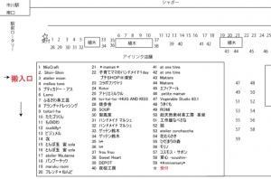 2014イチカワイチ配置図