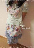 アナ雪スカート みのり着用