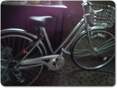 27インチオートライトアルミフレームの自転車