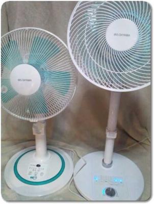 扇風機の大きさ比較