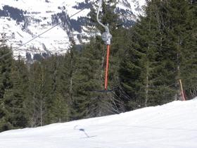珍しいスキーリフト