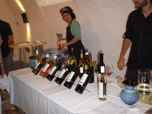 Ollonのワインdégustation