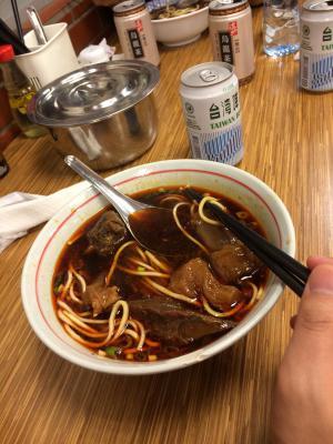 名物牛肉麺♪