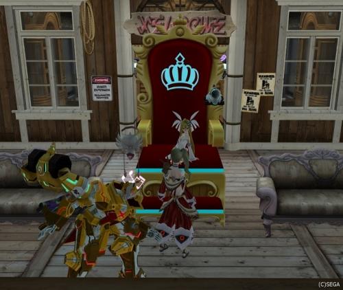 女王桜と下僕たち