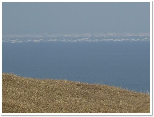 涙岬から2014年4月27日
