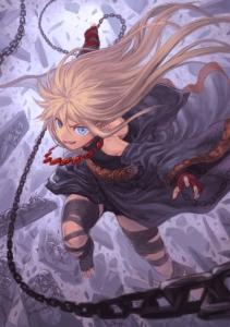 黒い鎖の魔女