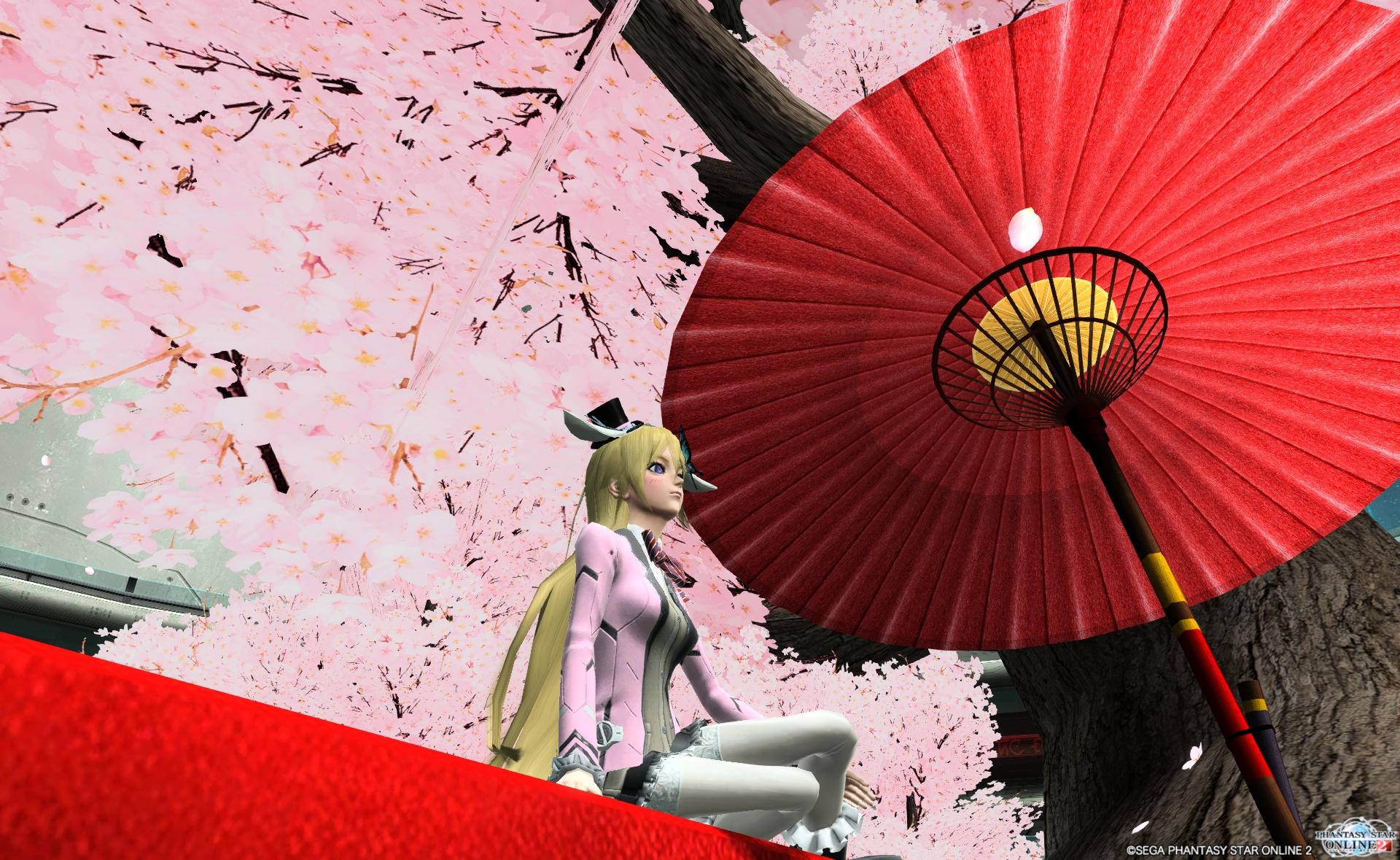 桜舞い散る~