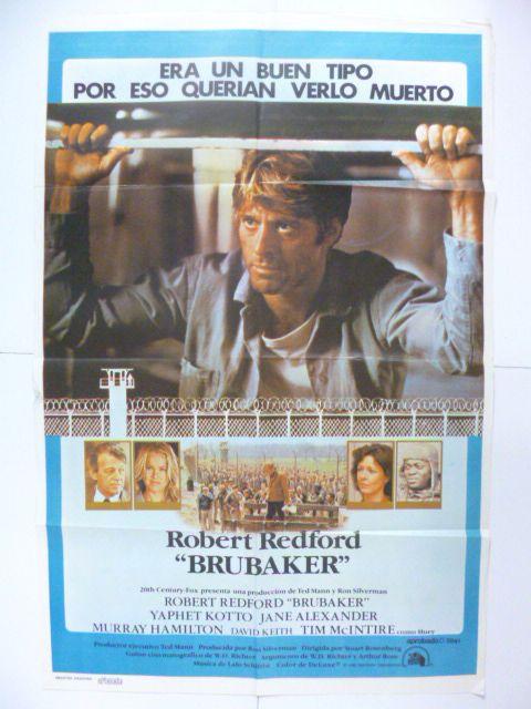 映画輸入版ポスター 「ブルーベイカー」 R・レッドフォード