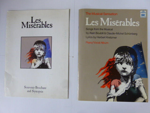 舞台パンフ&楽譜 「レ・ミゼラブル」英語版