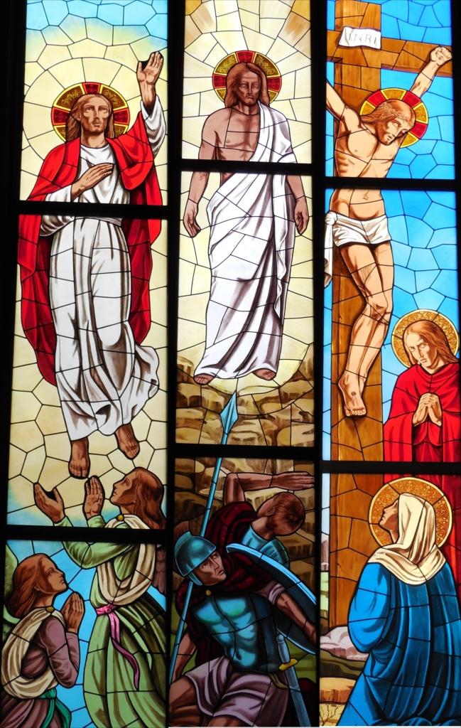 サレジオ教会のステンドグラス