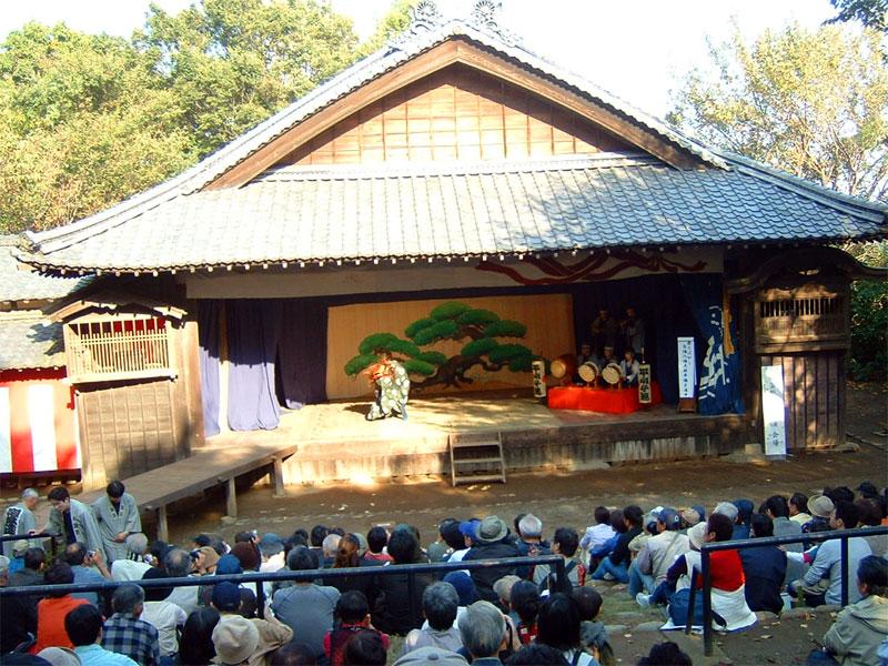 歌舞伎公演時の様子