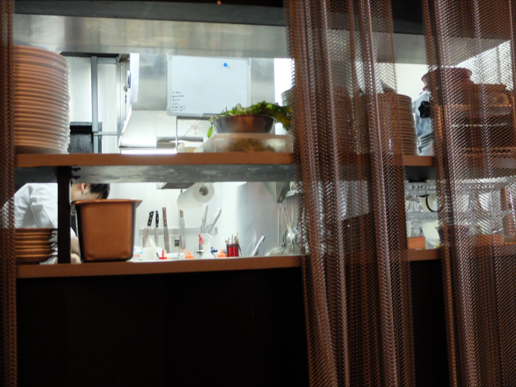 お店の調理スペース