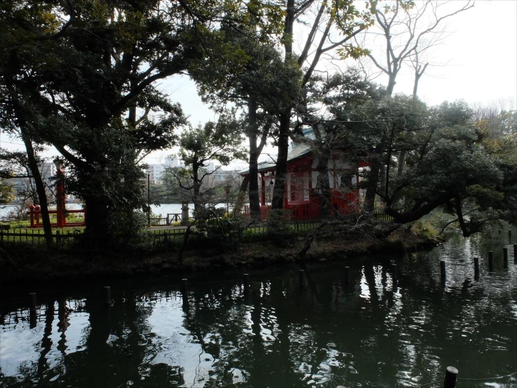 弁天島と洗足池弁財天_1