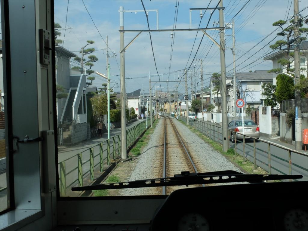鵠沼駅-柳小路駅の途中区間
