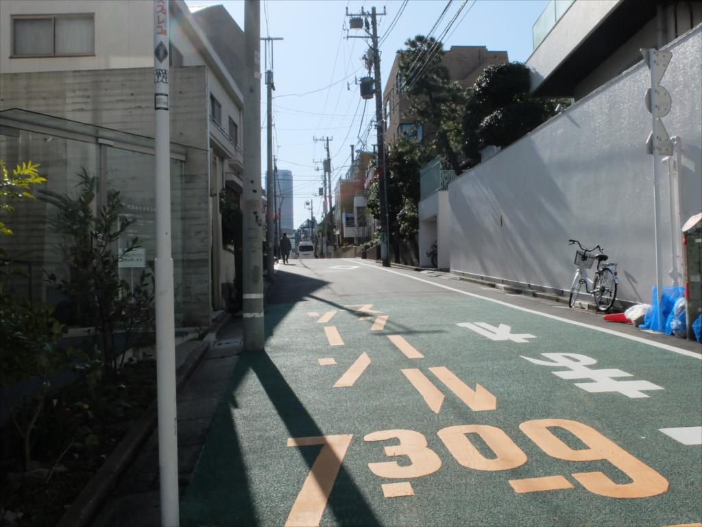 渋谷橋交差点までの道_1