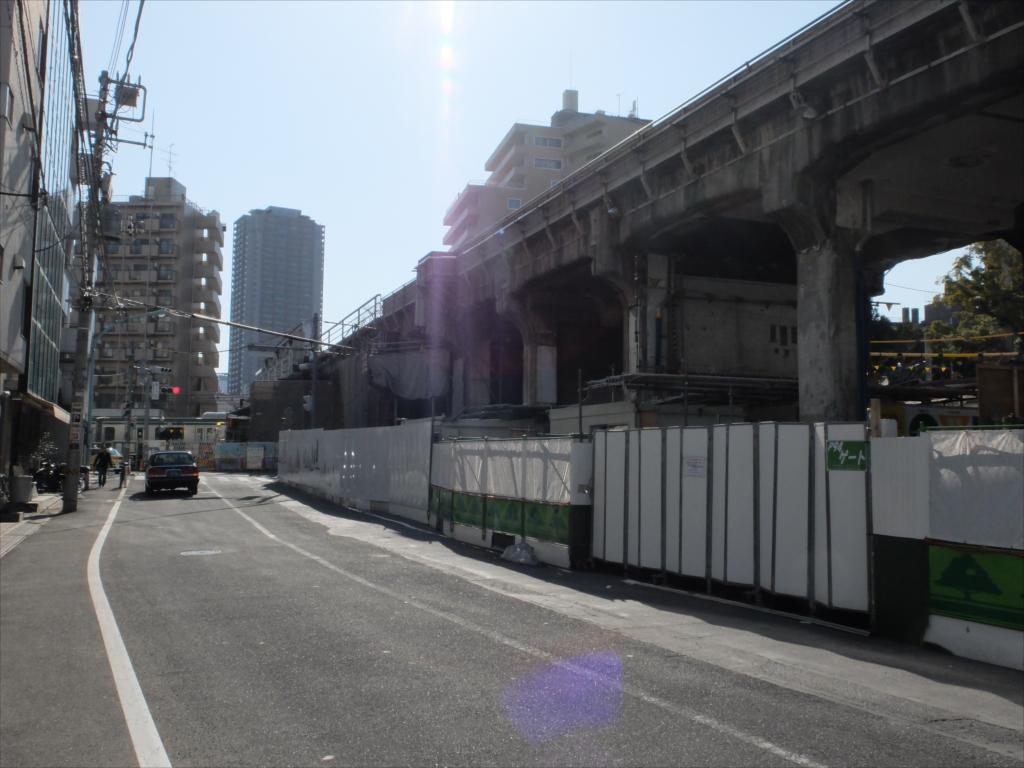 東横線高架跡_渋谷区東_2