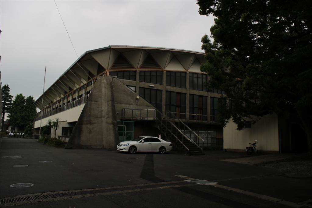 慶應義塾高等学校の体育館