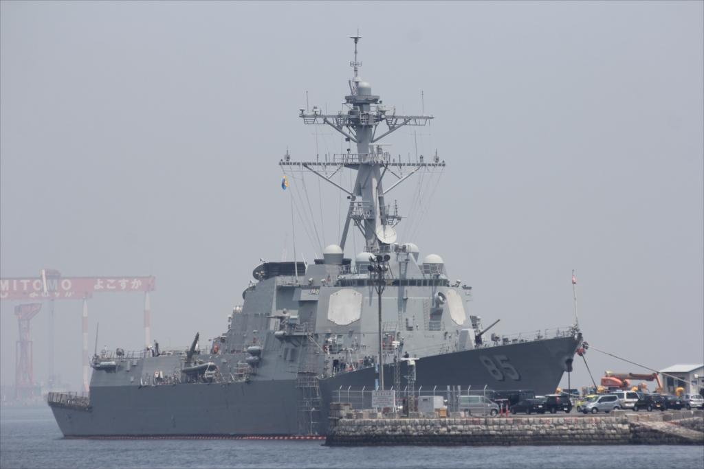 アーレイ・バーク級ミサイル駆逐艦「マッキャンベル」