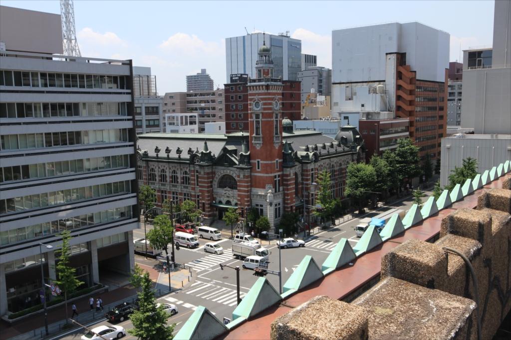 屋上から見た横浜市開港記念会館(ジャックの塔)_1