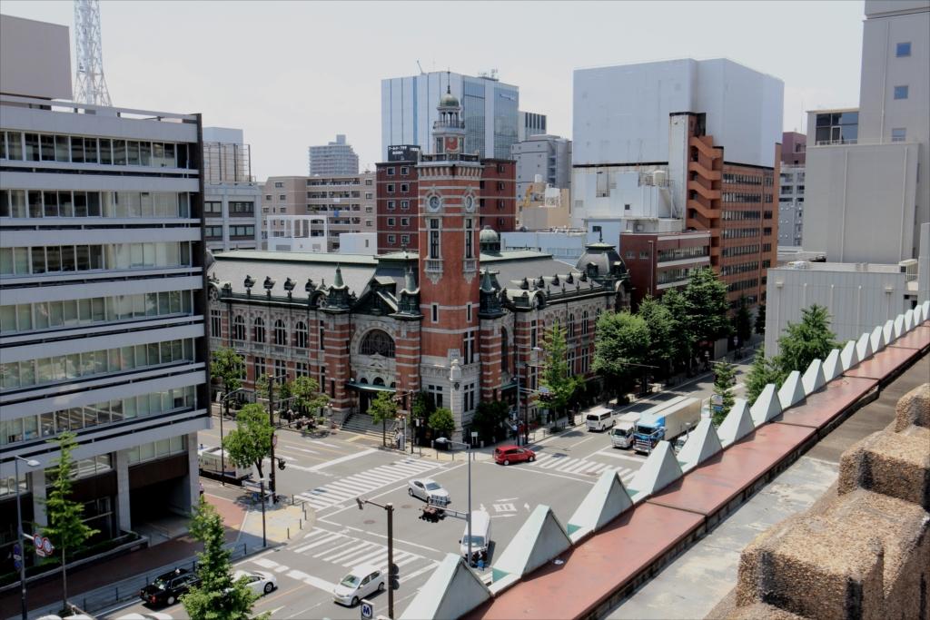 屋上から見た横浜市開港記念会館(ジャックの塔)_2