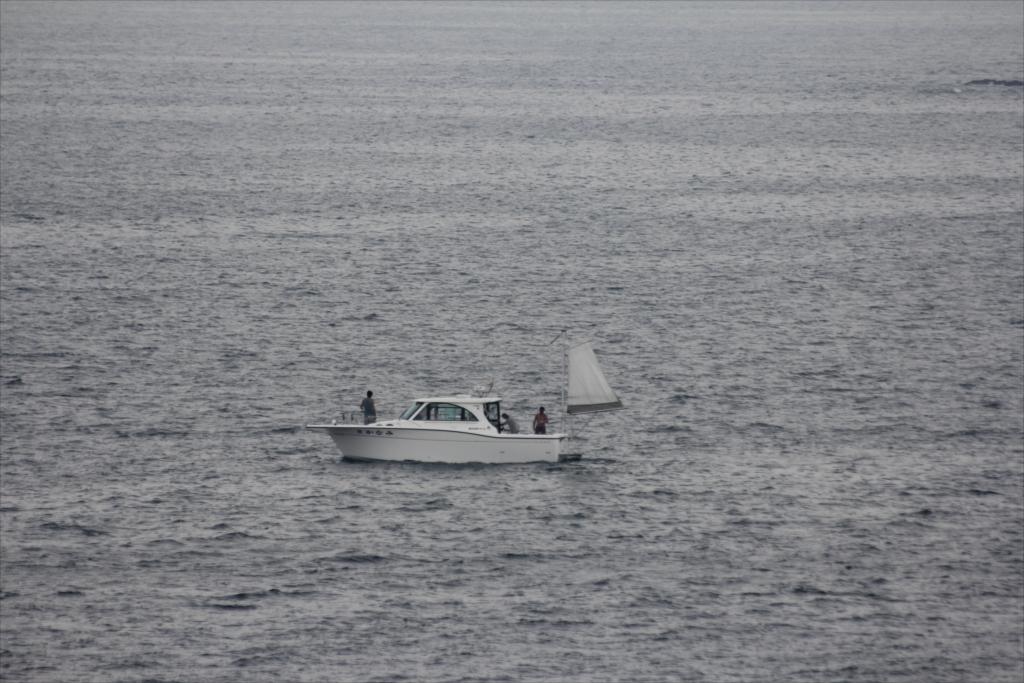 この船は釣り船なのかなあ