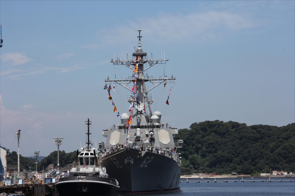 米第7艦隊ミサイル駆逐艦DDG-62フィッツジェラルド