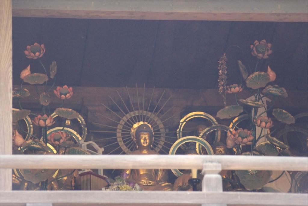 楼門に阿弥陀如来と二十五菩薩が見える_3