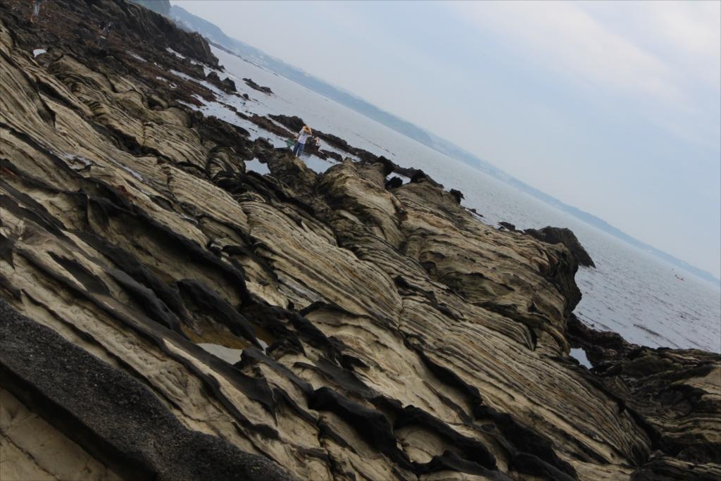見事な海蝕台_4