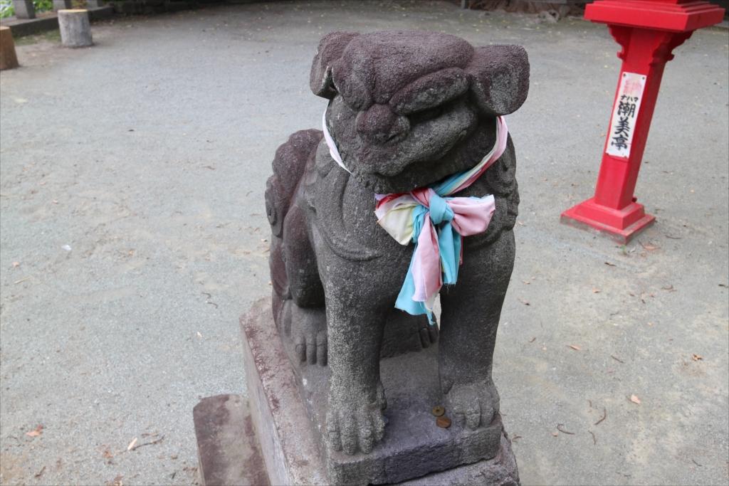 熊野神社_狛犬_2