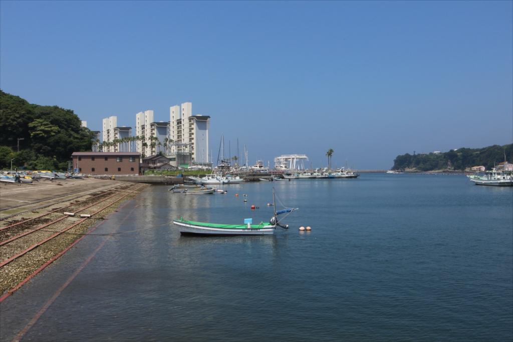 湾奥部から見た湾口部の景色_1