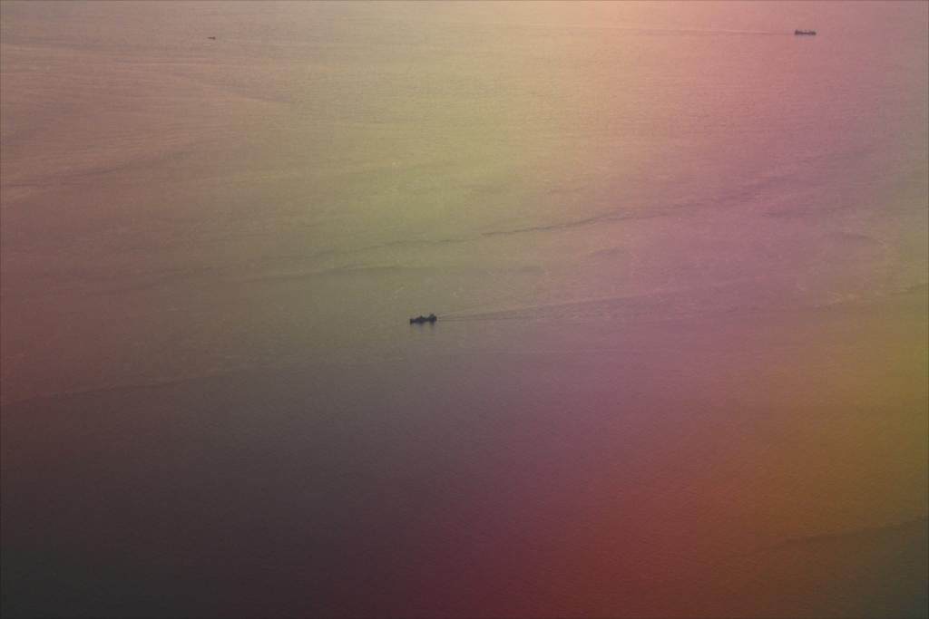 青函海峡が見えて、航行する船も見えた_2