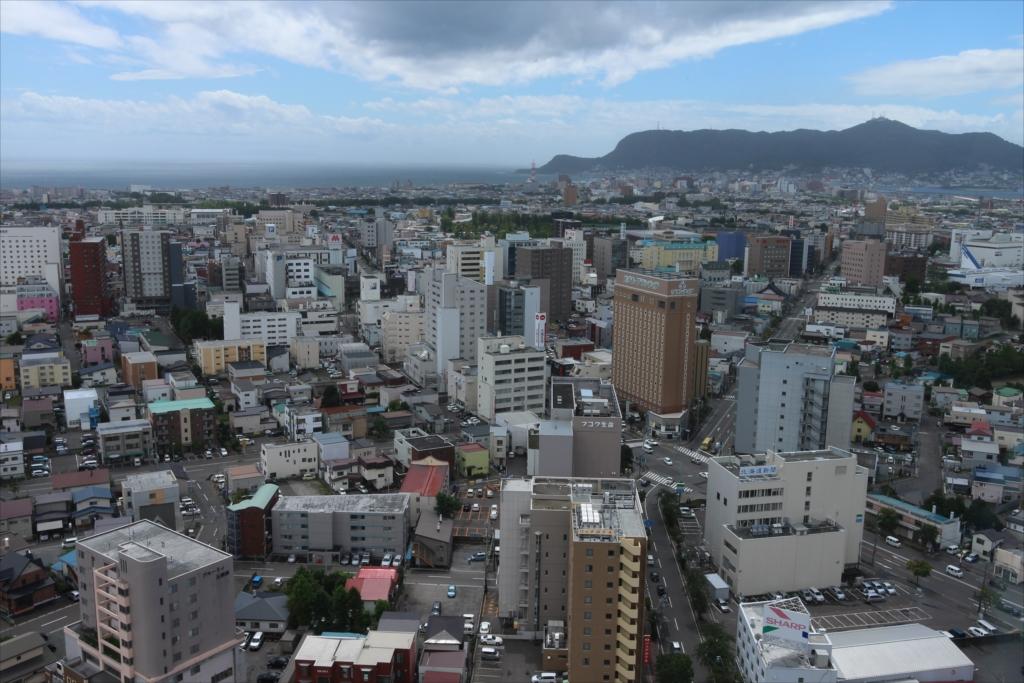 五稜郭タワーから見た市内の様子_4