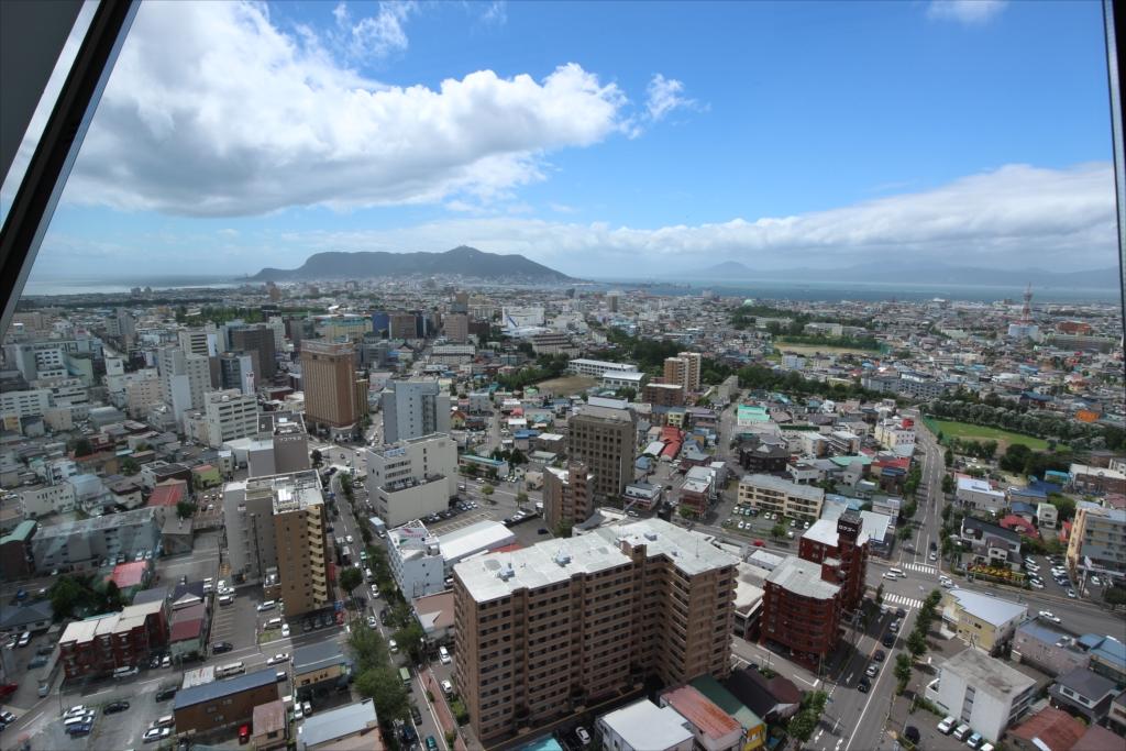五稜郭タワーから見た市内の様子_5