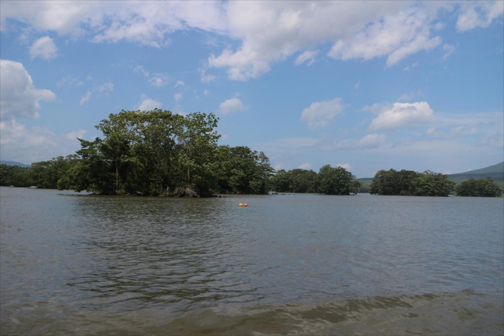 水深が非常に浅く、通ることができるルートは限られる_4