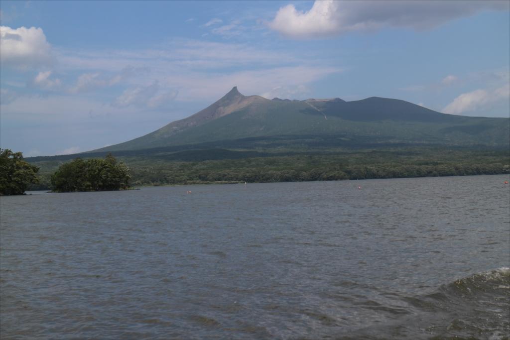 駒ケ岳をじっくり眺める_1